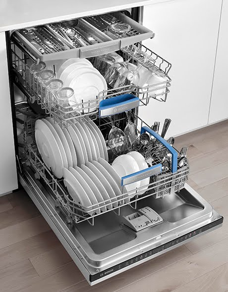چیدن ظروف در ماشین ظرفشویی آاگ AEG