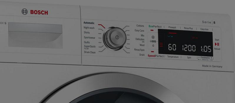 لباسشویی بوش آب را تخلیه نمی کند