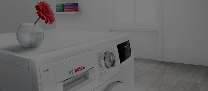 علت خشک نشدن لباس در ماشین لباسشویی بوش BOSCH