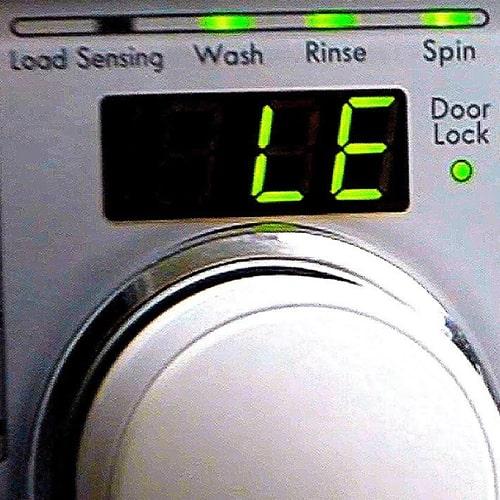 ارور le لباسشویی ال جی
