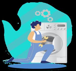 تعویض تسمه لباسشویی