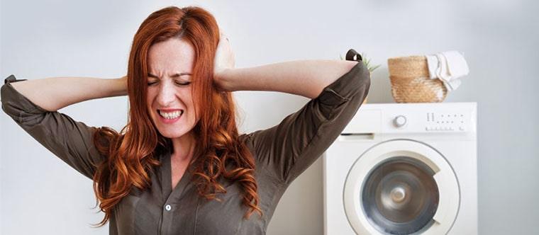 علت صدای ماشین لباسشویی هنگام تخلیه آب