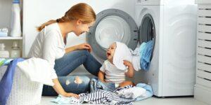 علت صدای زیاد لباسشویی هنگام تخلیه آب