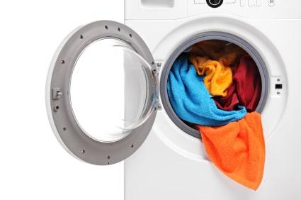 کار نکردن دور تند لباسشویی