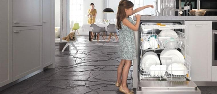 استفاده نکردن طولانی مدت از ماشین ظرفشویی
