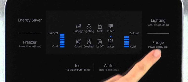 علت خاموش شدن صفحه نمایش یخچال