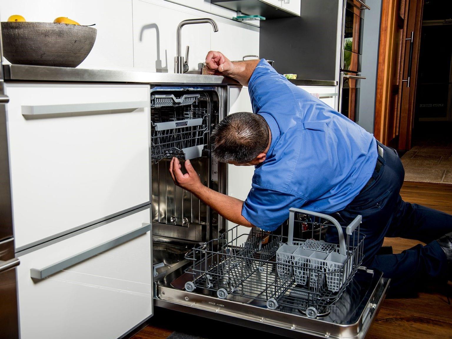 علت ماندن کف در ماشین ظرفشویی