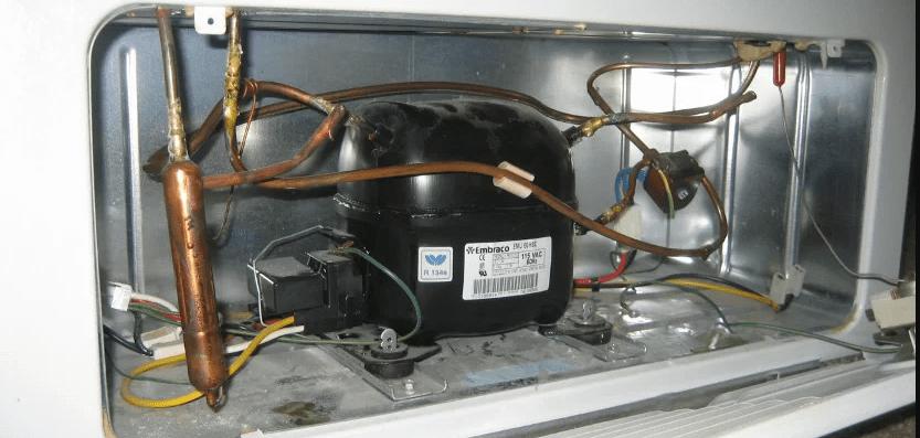 رابطه بین برد و کمپرسور برای اتومات کردن یخچال