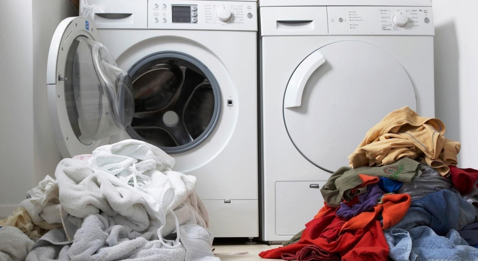 عدم تفکیک لباس ها باعث چروک شدن آنها در لباسشویی میشود