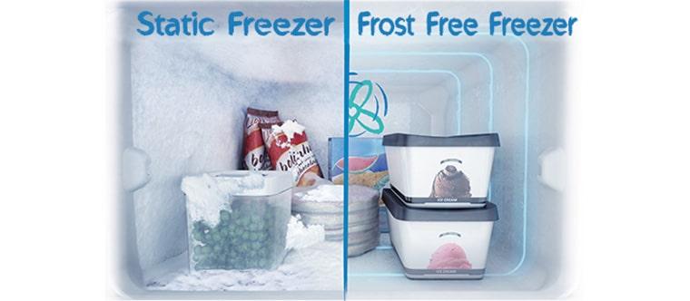 یخچال دیفراست و یخچال نوفراست
